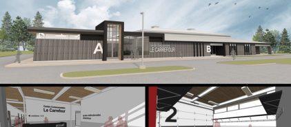 Agrandissement du centre communautaire Le Carrefour – Lévis