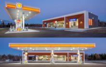 Station d'essence Shell à Neuville