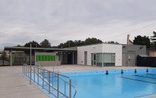 Piscine et son pavillon de services Parc-Victorin-Beaucage