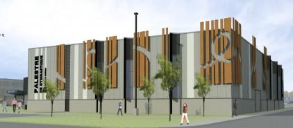 La palestre de gymnastique de charlesbourg en chantier for Arpidrome piscine