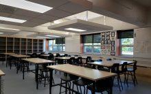 Inaugurait des nouveaux locaux d'arts plastiques à l'école Saint-Jean-Eudes