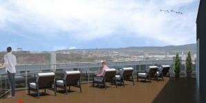 Vue-3 - Vue sur la terrasse